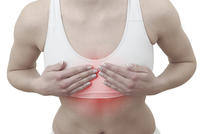 Ноет грудная железа причины